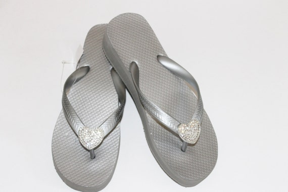 Items Similar To Clearance Womens Flip Flop-Wedding Wedge -3048