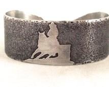 Metal  Cuff Bracelet - Western Jewelry - Barrel Racing- Horse - Equestrian- Personalized Gifts