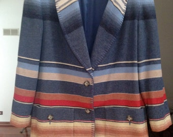 SOUTHWESTERN Blanket Jacket
