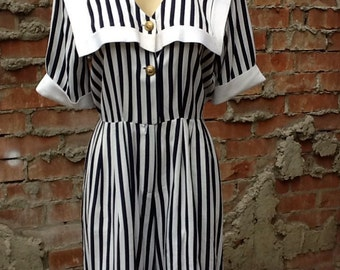 Amazing Vintage Sailor Romper