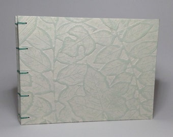 Made to Order - Green Leaf Wedding Guest Book
