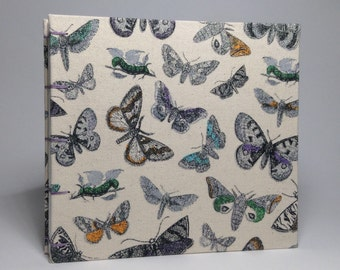 Butterfly Canvas Wedding Guest Book