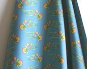 """ORGANIC """"Clover"""" Fabric by designer Monaluna from the Westwood Collection - ONE YARD Cut"""
