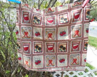 Debbie Mumm Fabric, Flower Seed Packets, Sunflower Seed, Watermelon, Strawberry, Carrot