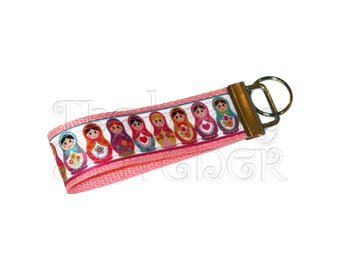 Russian Dolls Keychain / Key Fob