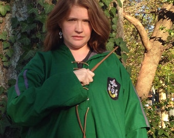 Wizard Inspired Adult Gaming Robe Costume - Made to Order - Personalized - Year 6 style