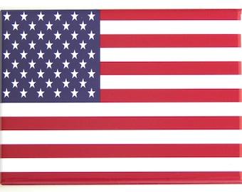 United States Flag Fridge Magnet