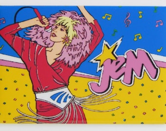 Jem & the Holograms Fridge Magnet