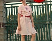 Vintage Baseball Uniform, Vintage Style Dress Pattern  and Coat Option Women xs-xl Bundle Iron on Transfer File Included