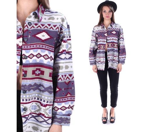 Aztec Printed t Shirts Aztec Printed Flannel Shirt