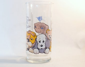 Pizza 1982 Hut Glass E T Extra Terrestrial Et Limited Edition Vintage Glasses Collector Drinking