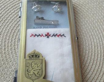 Vintage Finetex Men's Accessory Boxed Gift Set