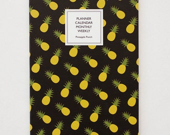 2015 Dagraphy Weekly Planner Series / Pineapple Punch