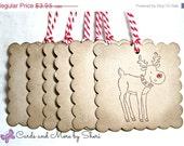 CIJ SALE Reindeer Gift Tags