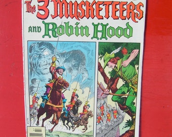 The 3 Musketeers and Robin Hood  -  DC Special 22, 23, 24  -   1970s DC comics at its Best