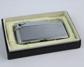 Vintage Flicker Made In Japan Silver Steel Lighter