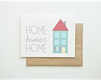 Custom Listing Home Sweet Home Card