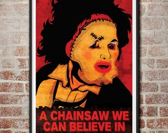 Leatherface: A Chainsaw We Can Believe In Texas Chainsaw Massacre Movie Poster