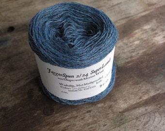 Sapphire 2/24 SuperLamb Wool Thread