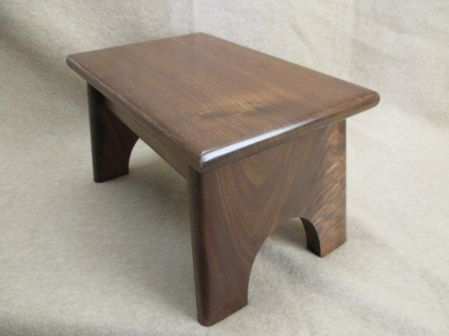 Solid Wood Stools ~ Handcrafted solid wood step stool