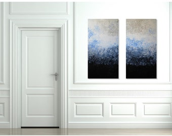 FREE SHIPPING,Original Painting, Abstract Painting, Large Painting, Abstract, Impressionist, Contemporary Art,Modern Artwork,Clouds,Wall Art