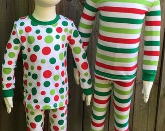 Striped pajamas | Etsy