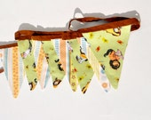 Where the Wild Things Are Fabric Pennant Banner, Kids Bunting, where the wild thibgs are banner, WTWTR party decor, kids literature