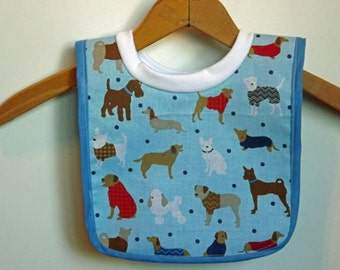 Baby Bib-Small Pull Over Baby Bib for Babies and Toddlers-s0027