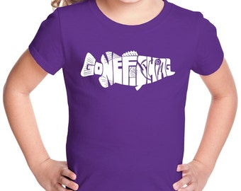 Girl's T-shirt - Bass - Gone Fishing