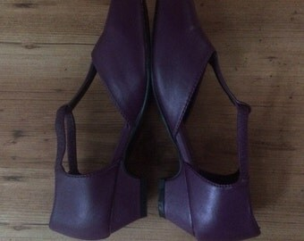 50% OFF SALE Purple 20s mary janes womens 6.5