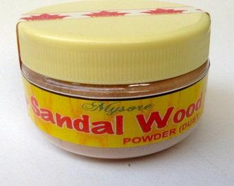 Pure Sandalwood Powder Dust 50 grams Mysore Sandalwood Chandan from Vrindavan SP0001