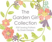 Garden Girl Collection PDF sewing Patterns