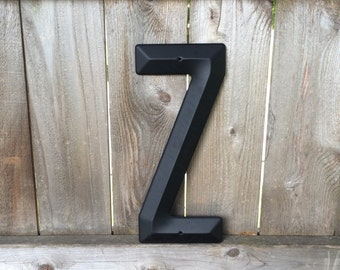 Large Black Metal Letters New Large Metal Sign Z  Etsy Decorating Design
