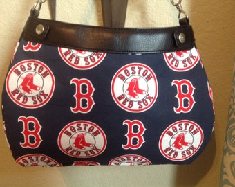 Boston Red Sox navy  MLB suite or skirt purse cover handmade