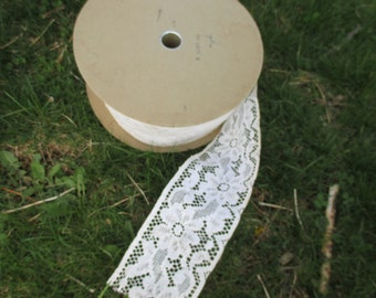 Vintage Lace Supply Roll of Lace Trim