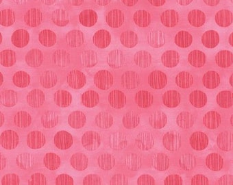 Basicgrey Fresh Cut for Moda - Floral Sweet Pea - Pink - Candy - 1/2 yard cotton quilt fabric 516