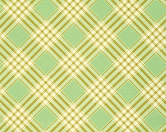 Ginger Snap by Heather Bailey for Free Spirit - Coat Check - Mint - 1/2 yard cotton quilt fabric 516