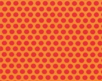 Mixed Bag from Studio M for Moda - Spot - Orange - FQ Fat Quarter yard cotton quilt fabric 516