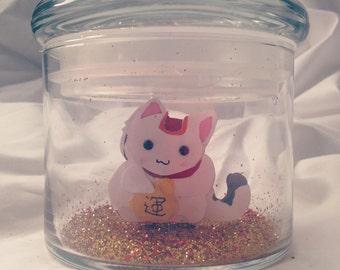 Lucky Cat -Fairy Jar-