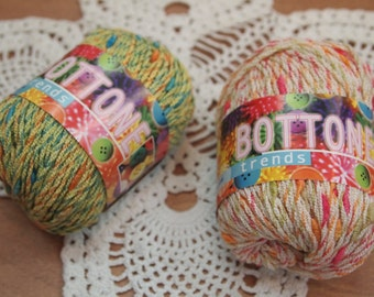 FREE SHIPPING - Adriafil Bottone cotton knitting yarn  made in Italy - only 4.99 USD