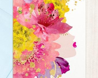 Flowerhead | Greeting Card