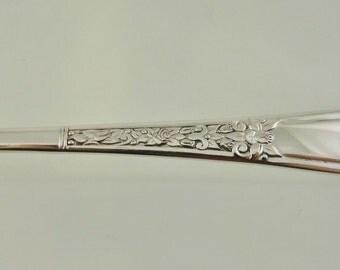 "Wm A Rogers Silverplate 1 Teaspoon ""Floral"" Pattern 1938"