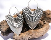 Gypsy Jewelry Bohemian Earrings Gypsy Festival Jewelry Boho Dangle Earrings Silver Boho Jewelry Gypsy Earrings Boho Woman Gift Her Birthday
