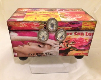 Eye of the Beholder Decorative Box