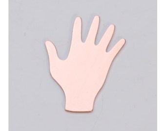"Copper Hand 3/4"" x 7/8"" 24ga PKG of 6"