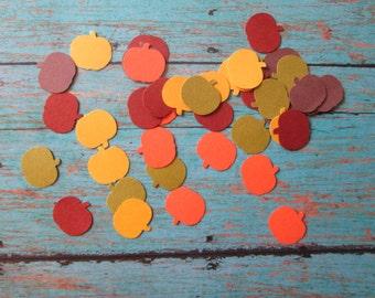 Mini Fall Colored Pumpkin Confetti - mini Pumpkins, Fall Confetti, Fall Colors, Harvest, Thanksgiving,Mini Table Confetti, Fall in Love
