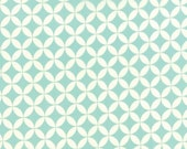 Hello Darling Floral Orange Peel Aqua 55111 22 by Bonnie and Camille from Moda