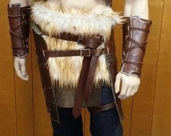 Leather Armor Skyrim Inspired Set