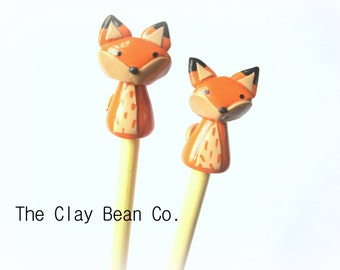NEW! Fox Knitting Needles
