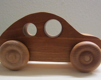 Wood Toy Car-  Wooden Handmade-Waldorf Inspired Toy- for Babies, Toddlers and Preschoolers-Pretend play -Eco friendly - Boy Girl Keepsake